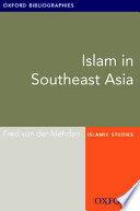 Islam in Southeast Asia  Oxford Bibliographies Online Research Guide
