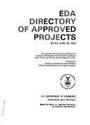 EDA Directory of Approved Projects