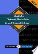 Routledge Diccionario Técnico Inglés