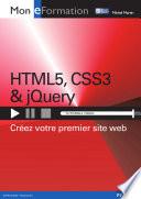 illustration du livre HTML5, CSS3 & jQuery
