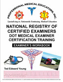 Nrcme D O T Medical Examiner Training