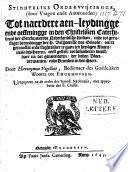 Stightelike onderwysingge, (door vragen en antwoorden) tot naerdere aenleydingge ende oeffeningge in den Christeliken Catechismus der Gereformeerde Nederlandsche Kerken