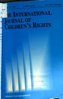 The International Journal of Children s Rights