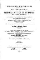 Book Aurifodina universalis