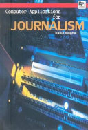 Computer Applications for Journalism