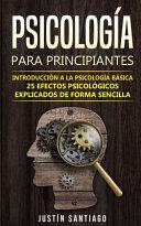 Psicolog A Para Principiantes
