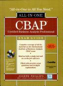 Cbap Cert Business Analysis