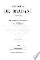 Geneviève de Brabant. Opéra bouffe en deux actes et six tableaux. Paroles de Jaime fils et Trefen