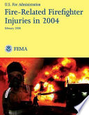 Fire Related Firefighter Injuries In 2004