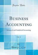 Business Accounting  Vol  4