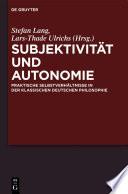 Subjektivität und Autonomie