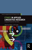 Ethics in Applied Linguistics Research Book