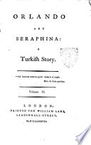Orlando And Seraphina A Turkish Story Volume 1 2