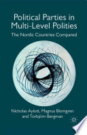 Political Parties in Multi Level Polities