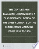 The Gentleman s Magazine Library