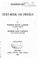 Elementary Text Book of Physics
