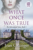 What Once Was True Book PDF
