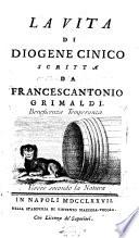 La vita di Diogene Cinico