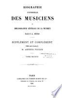 Biographie universelle des musiciens