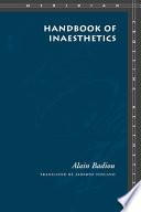 Handbook of Inaesthetics