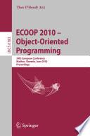 Ecoop 2010 Object Oriented Programming