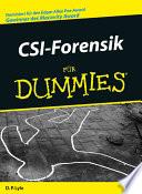 CSI Forensik f  r Dummies