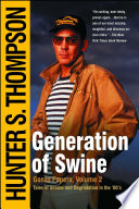 Generation Of Swine : vegas, the legendary hunter s....