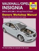 Vauxhall Opel Insignia Owner s Workshop Manual