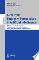 AI*IA 2009: Emergent Perspectives In Artificial Intelligence : ...