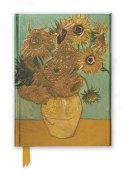 Flame Tree Notebook  Van Gogh Sunflowers
