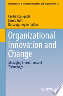 Organizational Innovation and Change