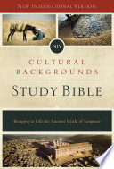Niv Cultural Backgrounds Study Bible Ebook