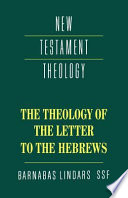 Ebook The Theology of the Letter to the Hebrews Epub Barnabas Lindars Apps Read Mobile