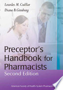Preceptor s Handbook for Pharmacists