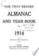 The Troy Record Almanac and Year book
