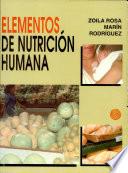 Elementos de Nutrici  n Humana