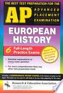 The Best Test Preparation for the Advanced Placement Examination in European History