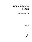 Book Review Index 1998 Cumulation Book PDF