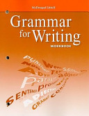 Grammar for Writing Workbook  Grade 9