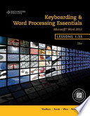 Keyboarding and Word Processing Essentials  Lessons 1 55