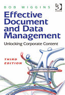 Effective Document and Data Management