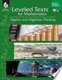 Leveled Texts for Mathematics