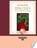 Feng Shui for Abundance  Large Print 16pt