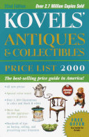 Kovels' Antiques & Collectibles Price List