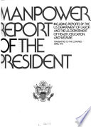 Employment and Training Report of the President Book PDF