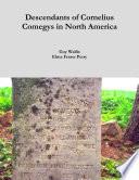 Descendants of Cornelius Comegys in North America