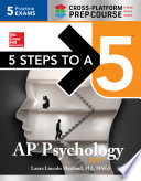 5 Steps to a 5 AP Psychology 2017 Cross Platform Prep Course