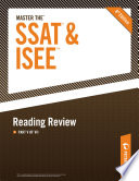 Master the SSAT ISEE  Reading Review