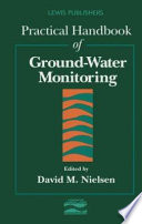 Practical Handbook of Ground Water Monitoring