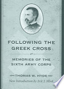 following the greek cross or memories of the sixth army corps